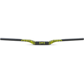 Sixpack Millenium805 Carbon Handlebar Ø35mm neon-yellow decals, matt